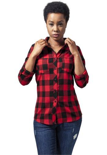 Košile - black/red