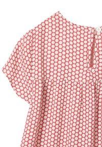 Vertbaudet - Day dress - red/white - 2