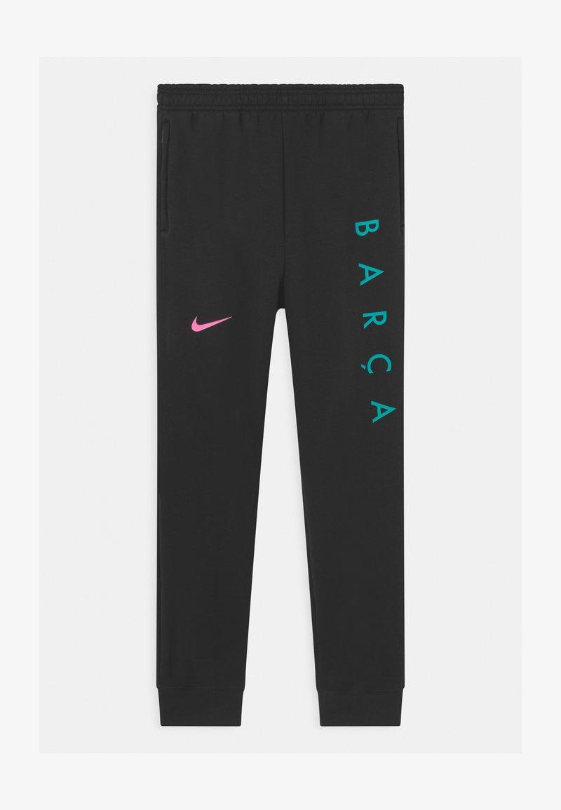 Nike Performance - FC BARCELONA UNISEX - Club wear - black/pink beam