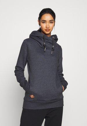 GRIPY BOLD - Bluza z kapturem - black