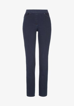 STYLE PAMINA - Slim fit jeans - dark blue