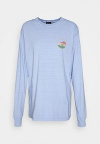 BDG Urban Outfitters - SKATE GRAPHIC TEE - Long sleeved top - baby blue - 4