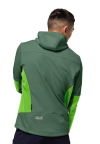 Jack Wolfskin - Soft shell jacket - leaf green - 1