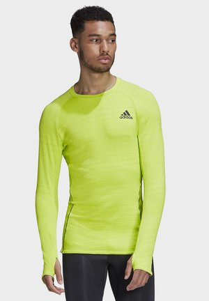 RUNNER LONG-SLEEVE TOP - Long sleeved top - green