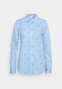 Gap Tall - Button-down blouse - navy - 4