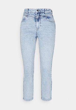 ONLEMILY LIFE CUT - Jeans straight leg - light blue denim