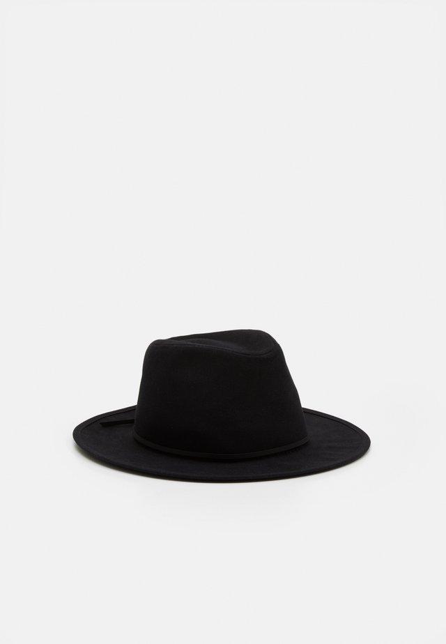 WESLEY FEDORA UNISEX - Hat - black