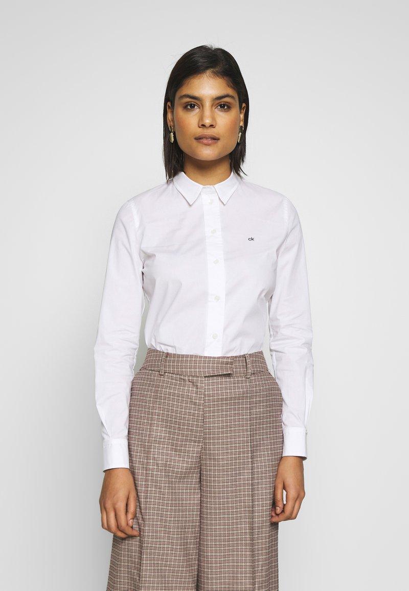 Calvin Klein - SLIM - Košile - bright white