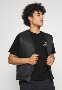 Carhartt WIP - PEACE STATE  - Print T-shirt - black / white - 3
