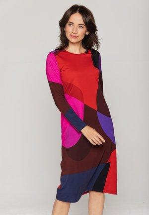 Sukienka z dżerseju - wielokolorowy