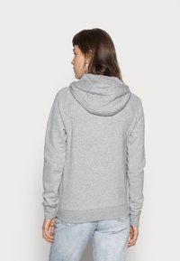 Nike Sportswear - HOODIE - Zip-up sweatshirt - grey heather/white - 2