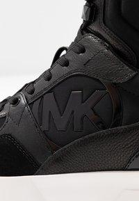 MICHAEL Michael Kors - BALLARD  - High-top trainers - black - 2