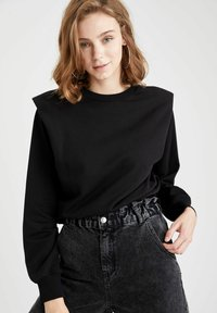 DeFacto - Sweatshirt - black - 0