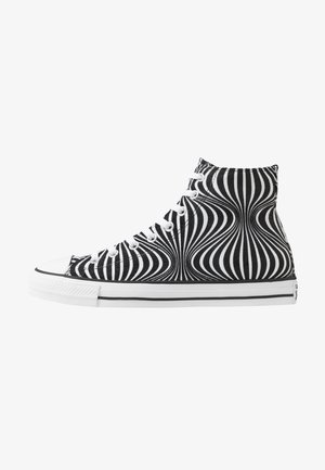 CHUCK TAYLOR ALL STAR MOONSHOT - High-top trainers - black/white