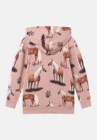 Walkiddy - BEAUTY HORSES - Zip-up sweatshirt - pink - 1