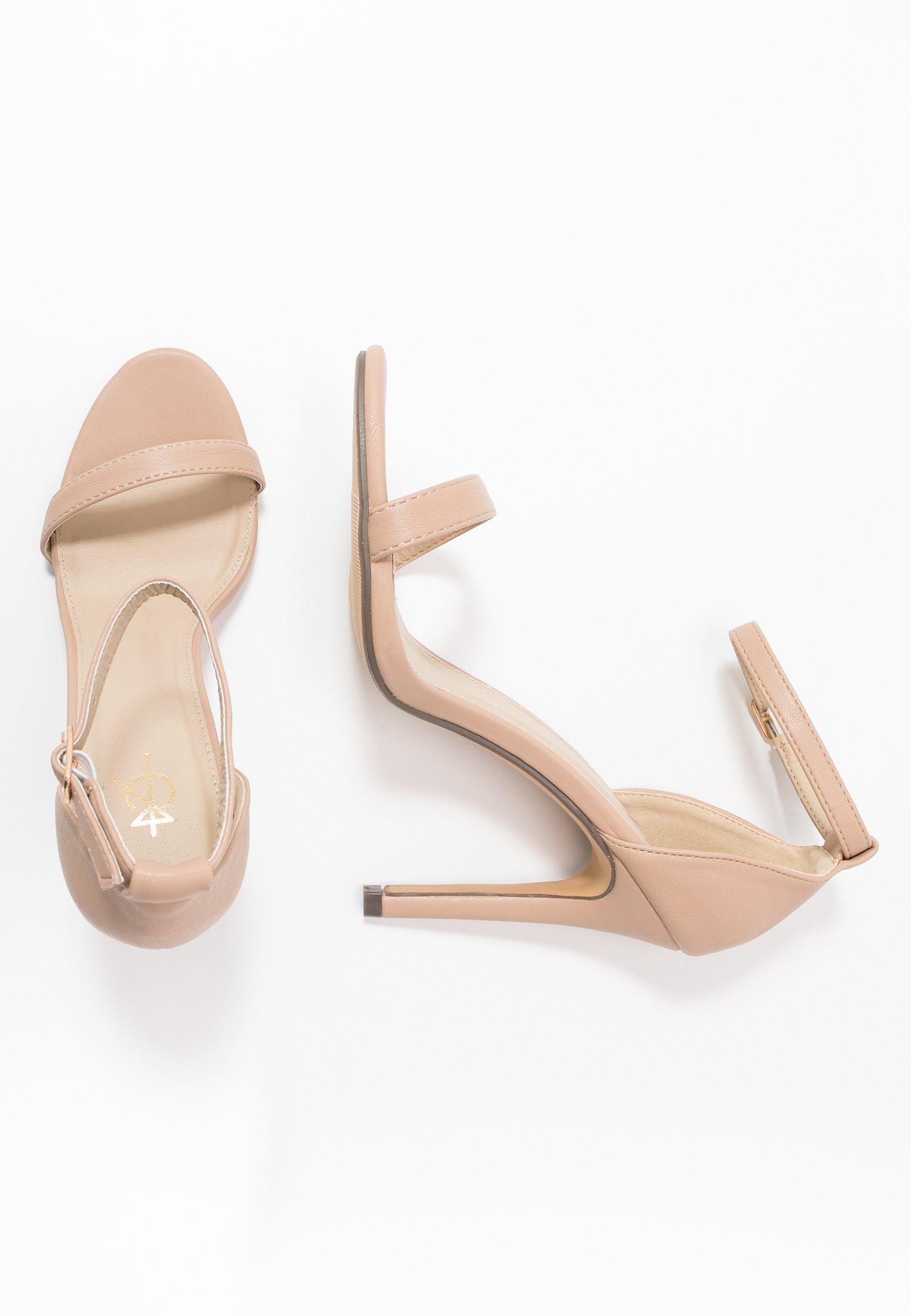 4th & Reckless Jasmine - Højhælede Sandaletter / Sandaler Nude