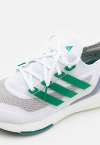 adidas Performance - ULTRABOOST 21 - Neutral running shoes - footwear white/sub green/core black - 5
