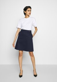 HUGO - RALESA - A-line skirt - open blue - 1
