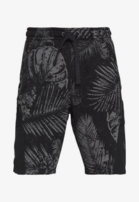 Under Armour - PROJECT ROCK TERRY PRINTED SHORT - Sports shorts - black/pitch gray - 4