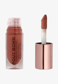 Make up Revolution - POUT BOMB PLUMPING GLOSS LIPGLOSS - Lip gloss - cookie - 0