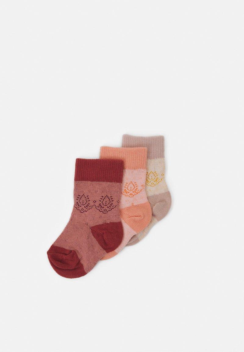 MP Denmark - BABY NANNA SOCKS 3 PACK UNISEX - Socks - ecru
