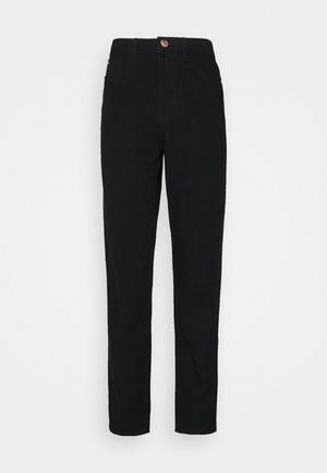 RIOT MOM  - Straight leg jeans - black