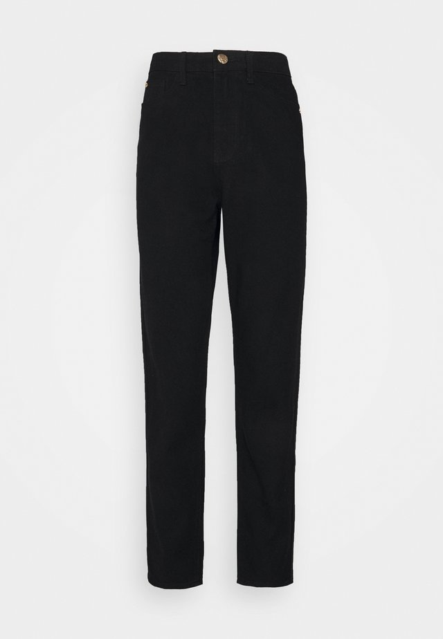 RIOT MOM  - Jeans Straight Leg - black