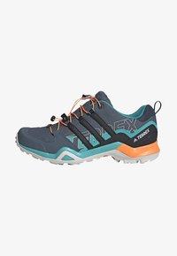 adidas Performance - TERREX SWIFT R2 HIKING SHOES - Hiking shoes - green - 1