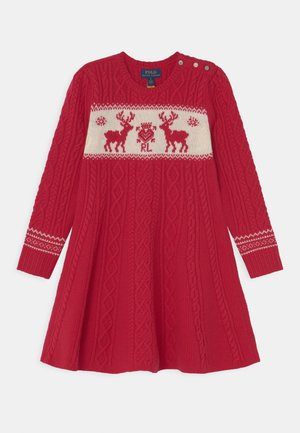 DAY DRESS - Robe pull - park avenue red