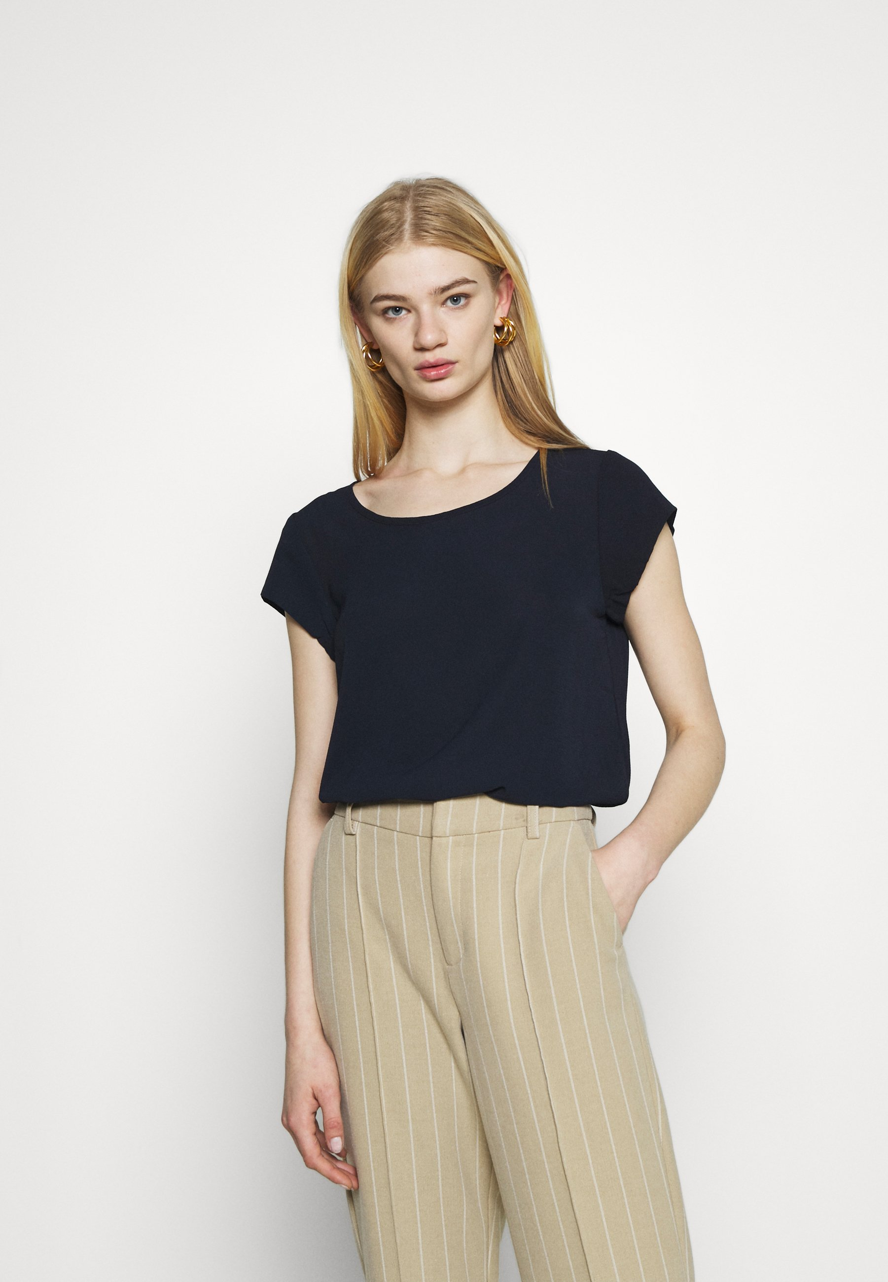 Femme ONLNOVA LUX SOLID - T-shirt basique