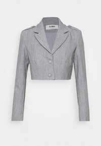 4th & Reckless - RAFFI CROPPED BLAZER - Blazer - grey - 0