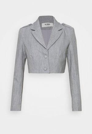 RAFFI CROPPED BLAZER - Blazer - grey