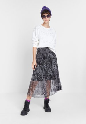 FAL_FABIOLA - Pleated skirt - black