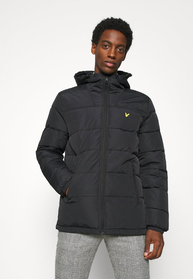 WADDED JACKET - Vinterjacka - jet black