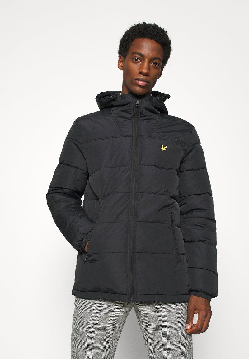 Lyle & Scott - WADDED JACKET - Winter jacket - jet black