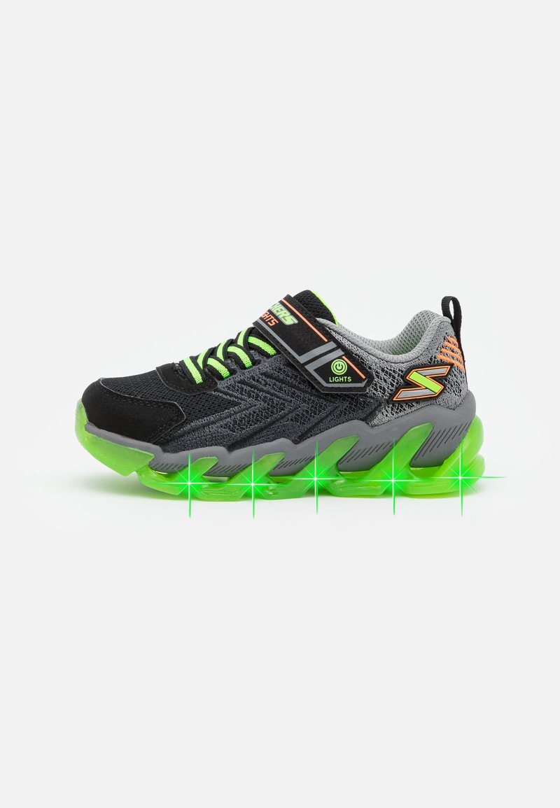 Skechers - MEGA SURGE - Trainers - black/lime/orange