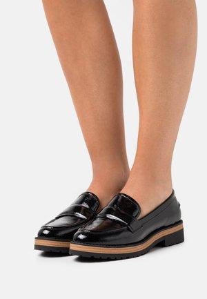 VEGAN MILLLIE - Nazouvací boty - black