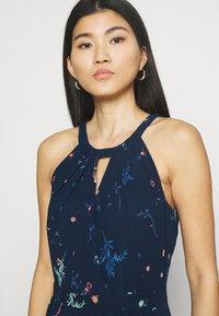 Esprit Collection - PRINT FLOWER - Maxi dress - navy - 3