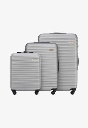 GROOVE LINE SET - Luggage set - grau