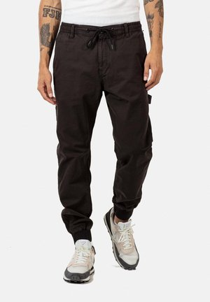 REFLEX RIB WORKER LC - Cargo trousers -  black