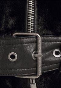 ONLY - ONLMARY BIKER - Winter jacket - black - 5