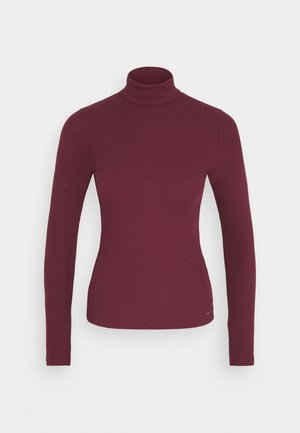 SLIM TURTLE  - Jumper - burgundy