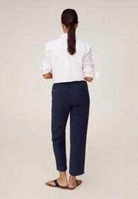 Mango - Pantalon classique - blu marino scuro - 2