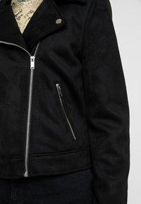 Even&Odd - Faux leather jacket - black - 4