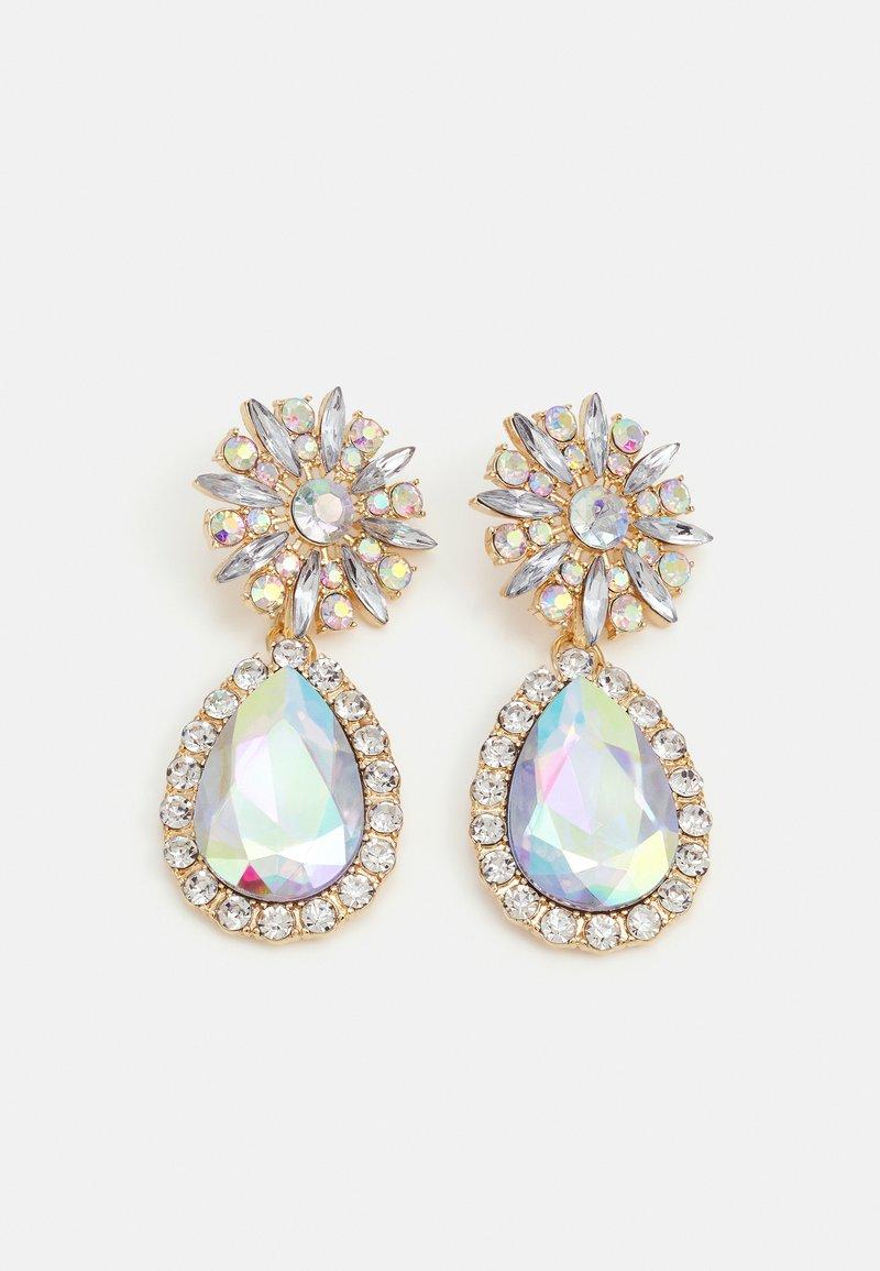 Pieces - PCLAURIA EARRINGS - Boucles d'oreilles - gold-coloured