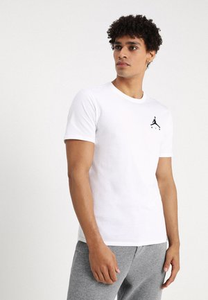JUMPMAN AIR TEE - T-shirts basic - white/black