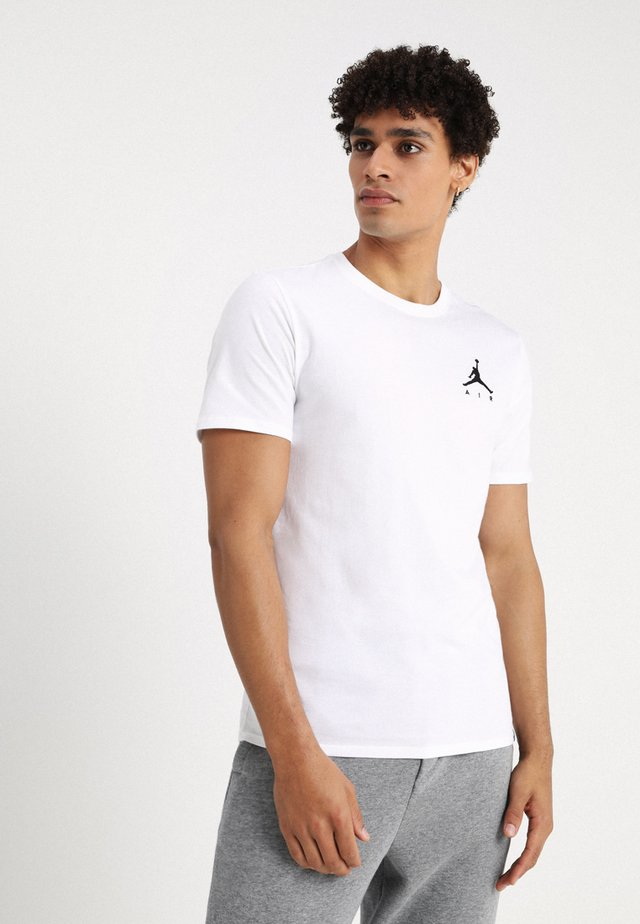 JUMPMAN AIR TEE - T-shirt basic - white/black
