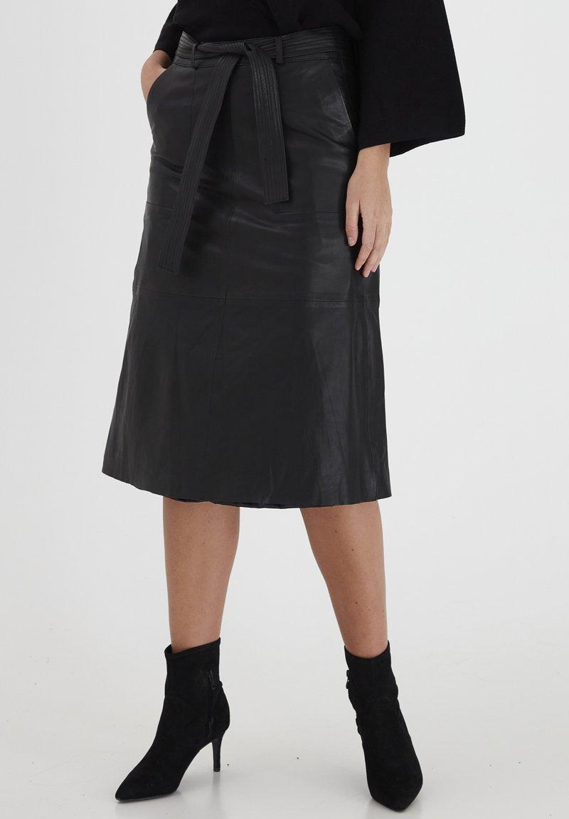 Dranella - A-line skirt - black