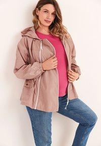 Next - Waterproof jacket - pink - 1