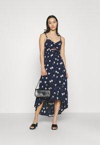 Hollister Co. - CHAIN DRESS - Day dress - navy - 1